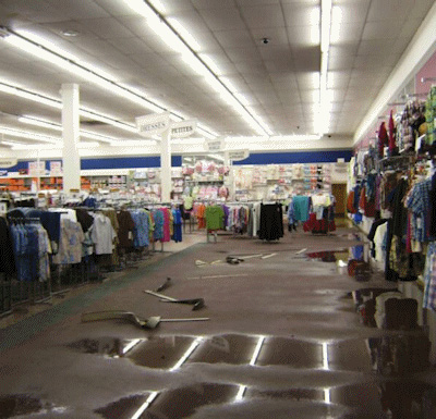 Large Store Water Damage